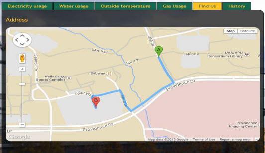 Engineering on Display: Website, Indoor Navigation